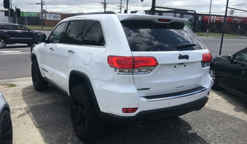 2015 Jeep Grand Cherokee Limited Wagon Spts Auto 8sp 4×4 3.0 full