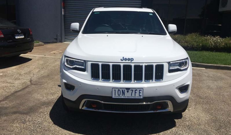 2016 Jeep Grand Cherokee Limited Wagon 5dr Spts Auto 8sp 4×4 3.0DT full