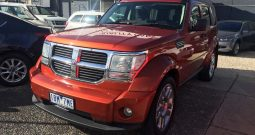 2007 Dodge Nitro SXT Wagon 5dr Spts Auto 4WD 2.8DT **Finance 85PW***