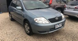 2003 Toyota Corolla Ascent Hatchback 5dr Manual 5sp 1.8 (finance-33pw)