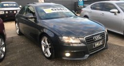 2009 Audi A4 Sedan 4dr multitronic 8sp 1.8T