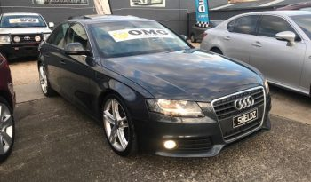 2009 Audi A4 Sedan 4dr multitronic 8sp 1.8T full
