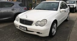 2003 Mercedes-Benz C180 Kompressor Classic Sedan Auto 5sp 1.8SC (Finance $33pw)