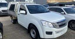 2015 Isuzu D-MAX SX Manual 4×2 MY15
