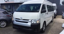 2017 Toyota Hiace KDH223R Commuter Bus High Roof 12st Auto 3.0DT