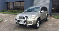 2003 Toyota Landcruiser Prado GXL Wagon 8st Auto 5sp 4×4 ( Finance $72pw*