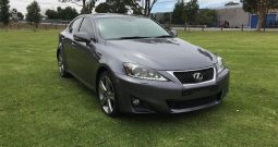2013 Lexus IS IS350 X Sedan 4dr Spts Auto 6sp, 3.5i**Finance 121PW***